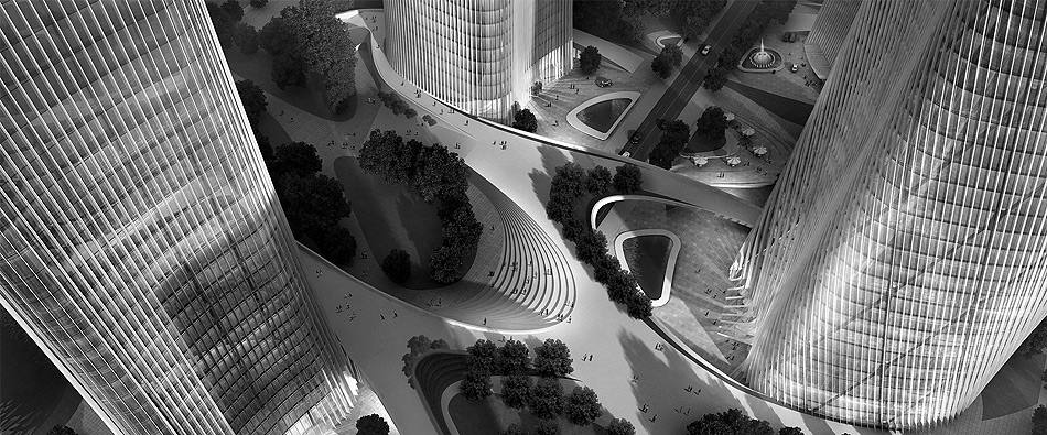 HENN ARCHITEKTEN - Central Business District, Wenzhou, China